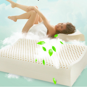 contour latex pillow