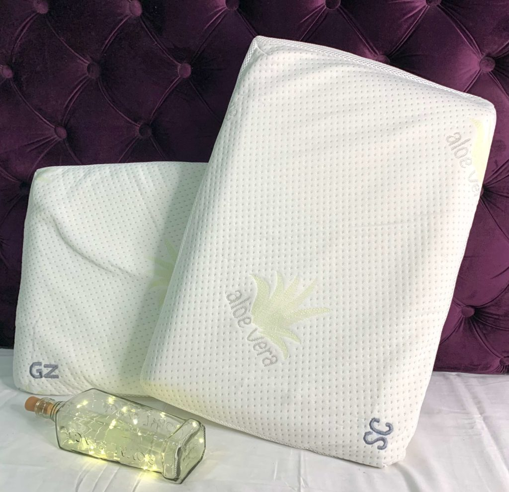 Personalised pillow memory foam