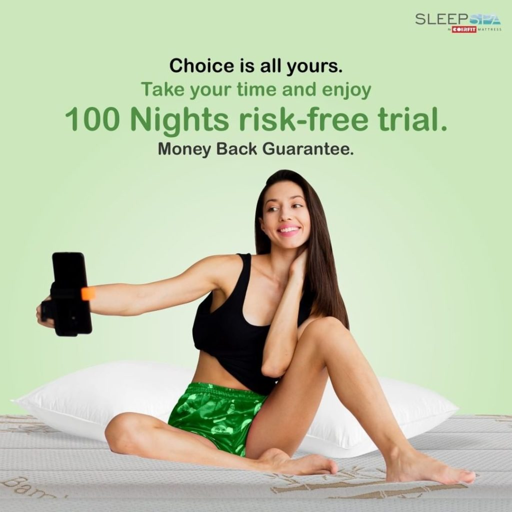 100 Nights trial mattress