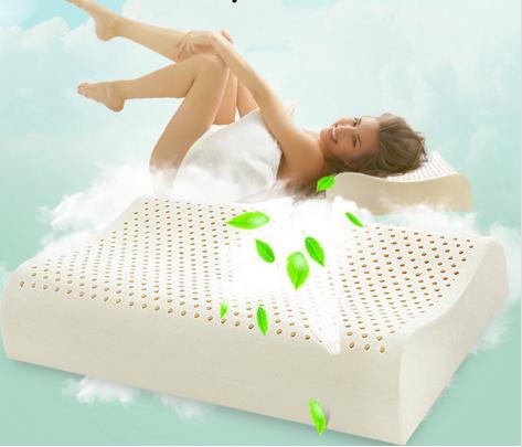Contour talalay latex pillow
